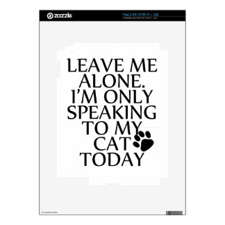 Speaking Decal For The iPad 2