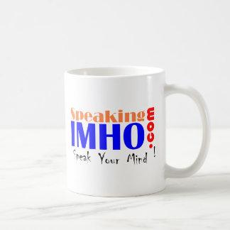 Speaking IMHO Coffee Mug
