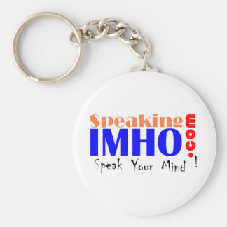 Speaking IMHO Keychain