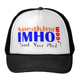 Speaking IMHO Trucker Hat