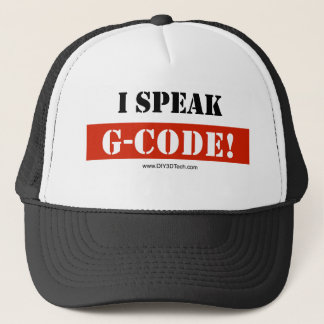 Speaking in G-Code Trucker Hat