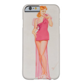 Speaking of Figures Pin Up Art Barely There iPhone 6 Case