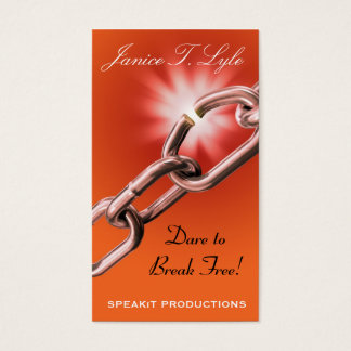 SPEAKiT PRODUCTIONS Business Card