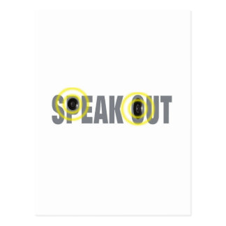 speakout postcard