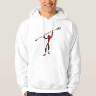 Spear Chucker - red Hoodie