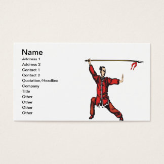 Spear Fighter Business Card
