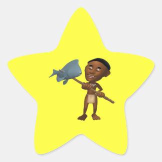 Spear Fishing 2 Star Sticker