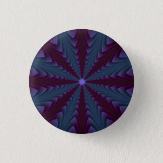 Spear-point in Blue and Purple Button