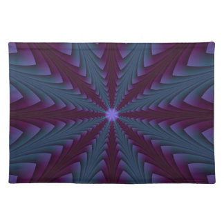 Spear-point in Blue and Purple Placemats