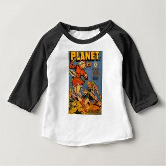 Spear Throwing Alien Baby T-Shirt