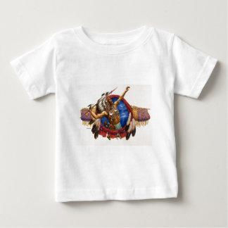 Spear Warrior Native American Baby T-Shirt