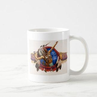Spear Warrior Native American Coffee Mug