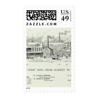 Spear West side Market and Mission Stamps
