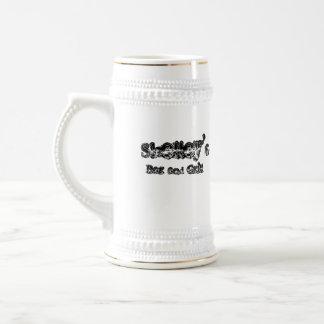 Spearchucker Stein 18 Oz Beer Stein
