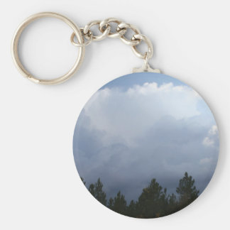 Spearfish Canyon Thunderstorm Keychain