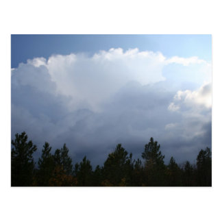 Spearfish Canyon Thunderstorm Postcard