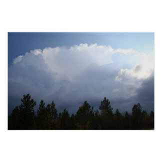 Spearfish Canyon Thunderstorm Posters