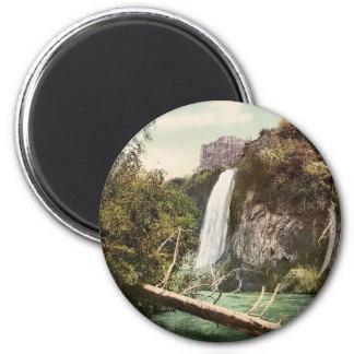 Spearfish Falls, South Dakota rare Photochrom Magnet