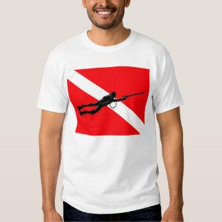 Spearfisherman Falg Tee Shirt