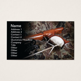 Spearfishing Business Card