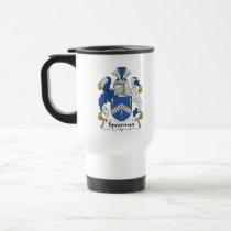Spearman Family Crest Mug