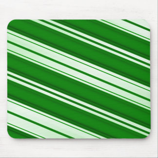 Spearmint candy cane mouse pad