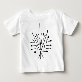 Spears and Arrows Baby T-Shirt