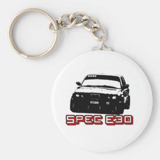Spec E30 Car Keychains