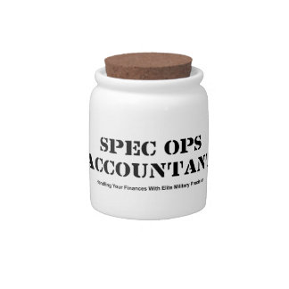 Spec Ops Accountant Candy Jar