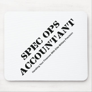 Spec Ops Accountant Mouse Pad
