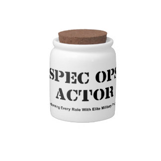 Spec Ops Actor Candy Dish