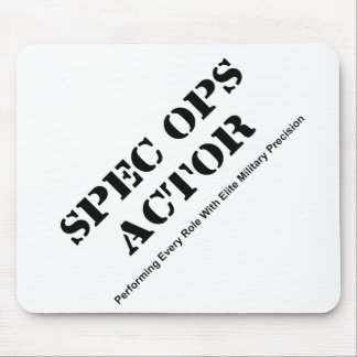 Spec Ops Actor Mouse Pad
