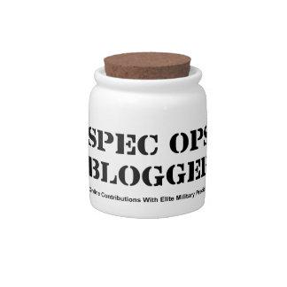 Spec Ops Blogger Candy Jars