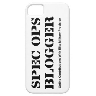 Spec Ops Blogger iPhone Case
