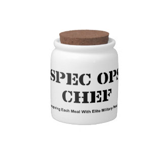 Spec Ops Chef Candy Dish