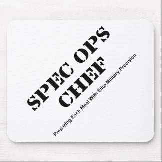 Spec Ops Chef Mouse Pad