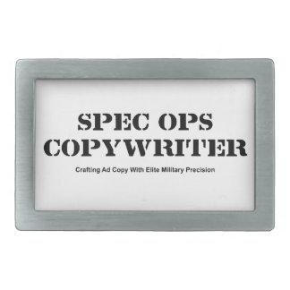 Spec  Ops Copywriter Belt Buckle