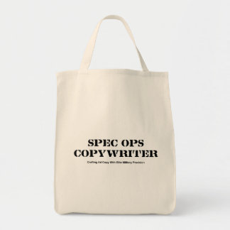 Spec  Ops Copywriter Tote Bag