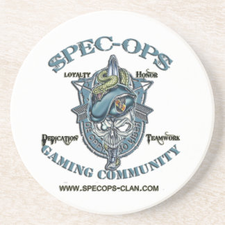 Spec-Ops Gaming Community Beverage Coasters
