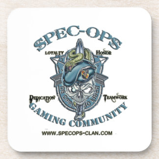 Spec-Ops Gaming Community Beverage Coaster