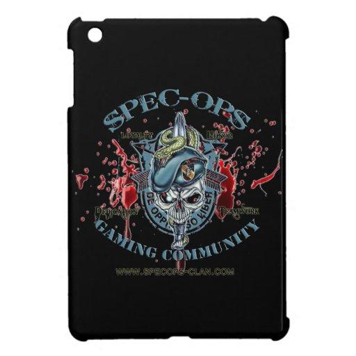 Spec-Ops Gaming Community Logo 2 Bld iPad Mini Covers