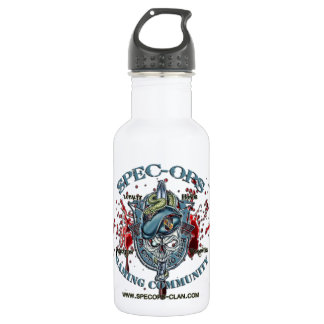 Spec-Ops Gaming Community Logo 2 Bld Water Bottle