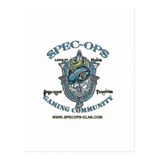 Spec-Ops Gaming Community Postcard