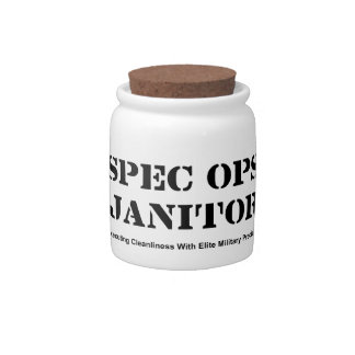 Spec Ops Janitor Candy Dish