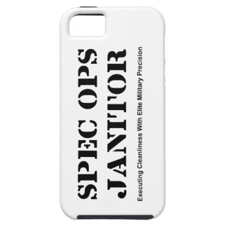Spec Ops Janitor iPhone SE/5/5s Case