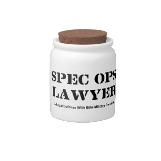 Spec Ops Lawyer - Defense Candy Dish