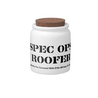 Spec Ops Roofer Candy Jar