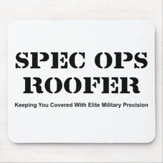 Spec Ops Roofer Mouse Pad