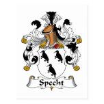 Specht Family Crest Post Cards