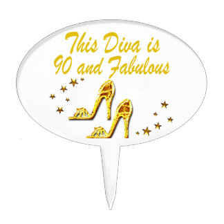SPECIAL 90TH BIRTHDAY CAKE TOPPER